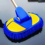 Retractable Brush Rider the Cleaning Tool Kit Wipe a Car Mop Soft Bristle New Style Car Supplies Car Wash Brush Long Handle