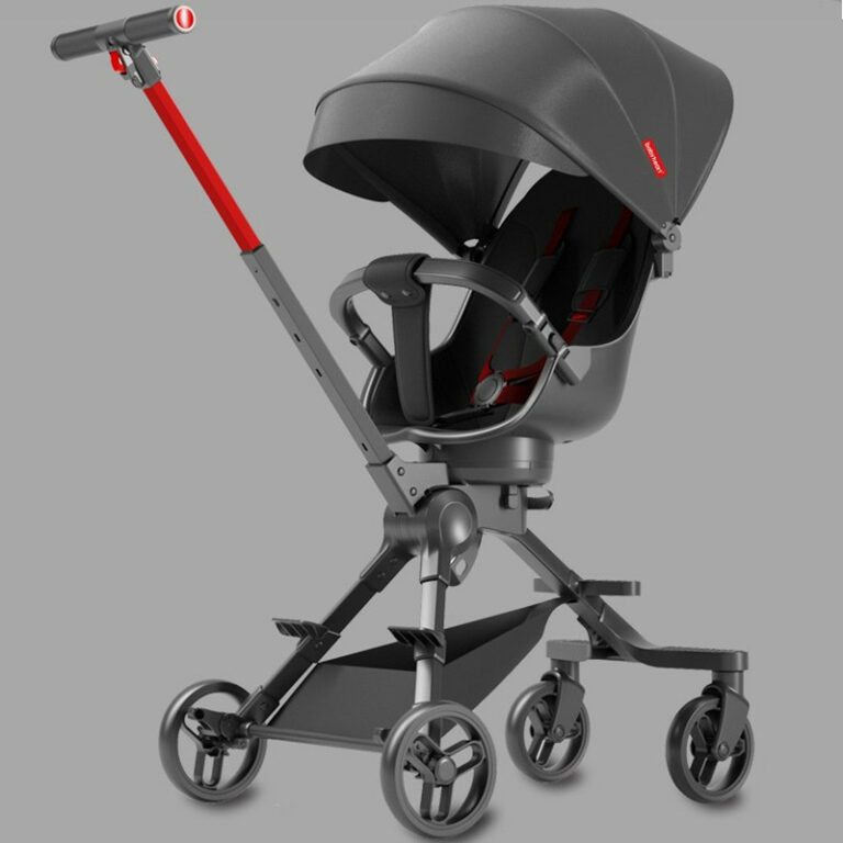 Playkids Baby Stroller Lightweight Folding Two-way High Landscape Pram Baby Stroller