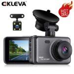 EKLEVA 3 inch Dash Cam IPS Screen Full HD 1080P Dashcam for Cars Dash Camera in Car Dash Cam with Night Vision