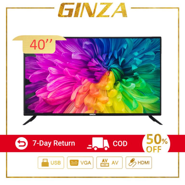 GINZA 24 inch TV 40 INCH TV FHD LED TV Sale Flatscreen Ultra-slim Cheap TV HDMI-AV-VGA-USB-Headphone?Screen Size is 20Inch?