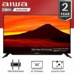 ?Sony Aiwa 32 Inch Screen High Definition LED TV AW-AON00032X with Free Wall Bracket(Original)