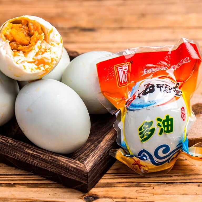 EQGS Sea Salt Duck Egg Super Yummy Dual Oil JUiCY Roasted 70g Ready to Eat