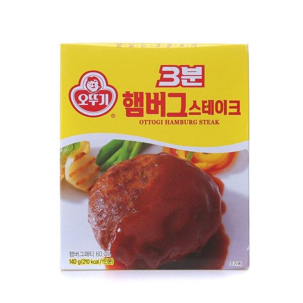 Ottogi 3 minutes Instant  Hamburger  100% Authentic from KOREA