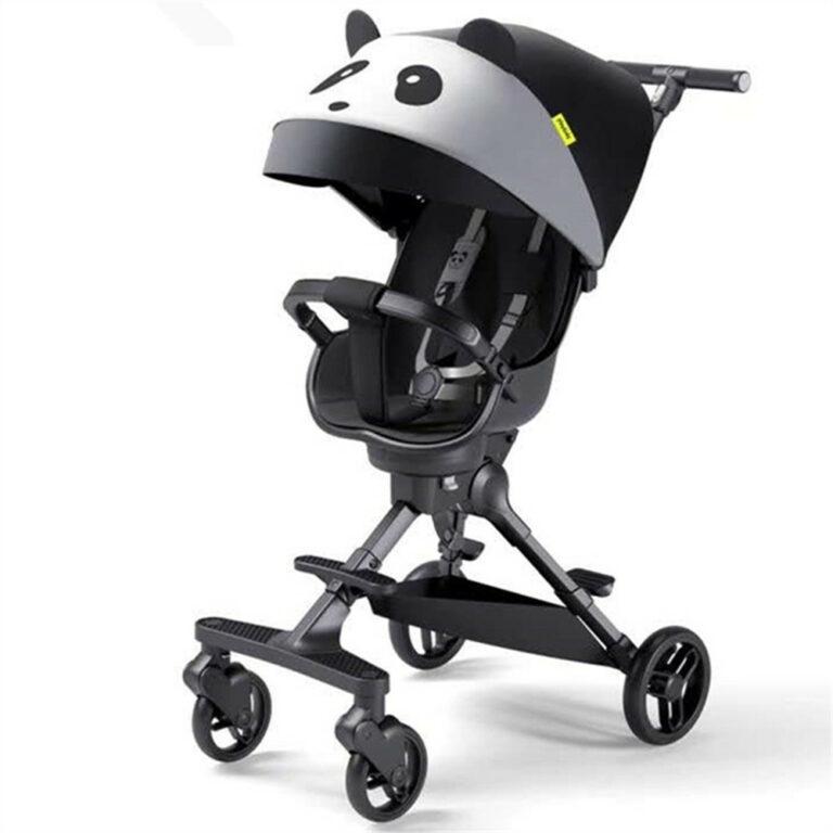 Lightweight Baby Stroller Portable Travel Pram Children Pushchair Four Wheels Baby Carriages High Landscape Panda Parent Facing Trolley