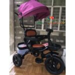 COD??Baby Stroller bike RUBBER TIRE 3 Wheels Trolley Bike for baby.baby Tricycle