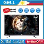 GELL 42inch Full HD LED Flat Screen TV Frameless ultra-slim ?Free Bracket)