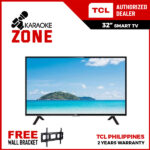 TCL 32 inch 32S6800 HD LED AI Smart Android TV - HDR – Netflix – YouTube (Model LED32S6800) / TCL 32s6800 / TCL  32 inch Android Smart TV / TCL Android Smart Led Tv With Free Voice Remote with wall bracket and ships with Wooden Crate