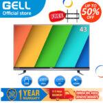 (Free Bracket)GELL 43 inch  LED TV sale flatscreen Full HD ultra-slim Flat-screen GELL43BC
