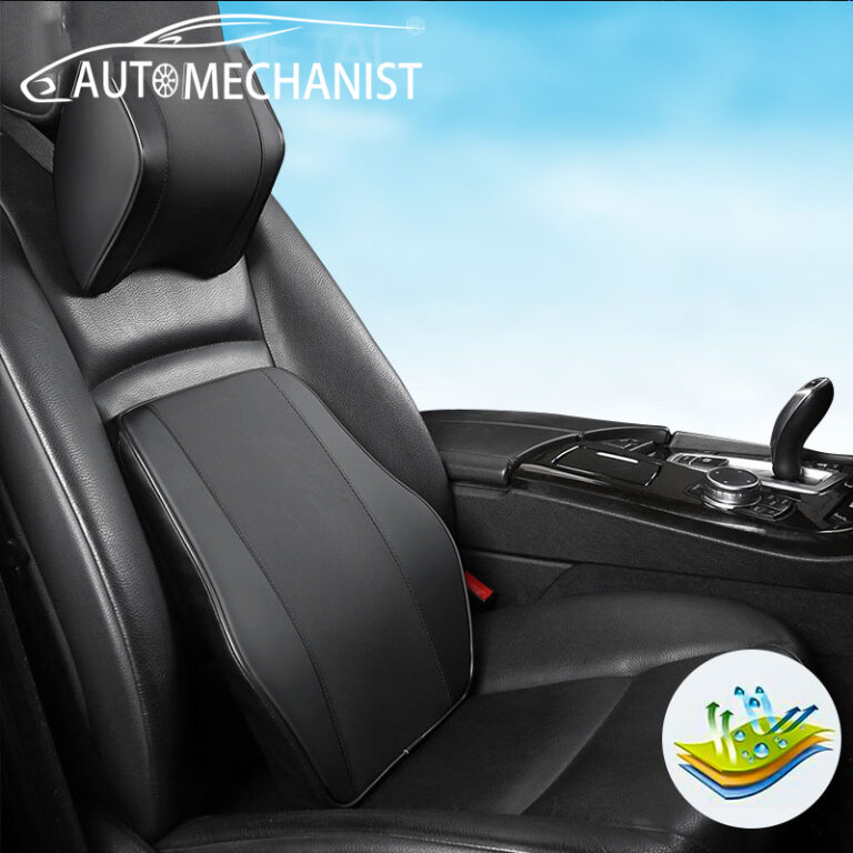 Universal Car Seat Headrest Pillow Waist Back Cushion Car Neck Head Rest Accessories
