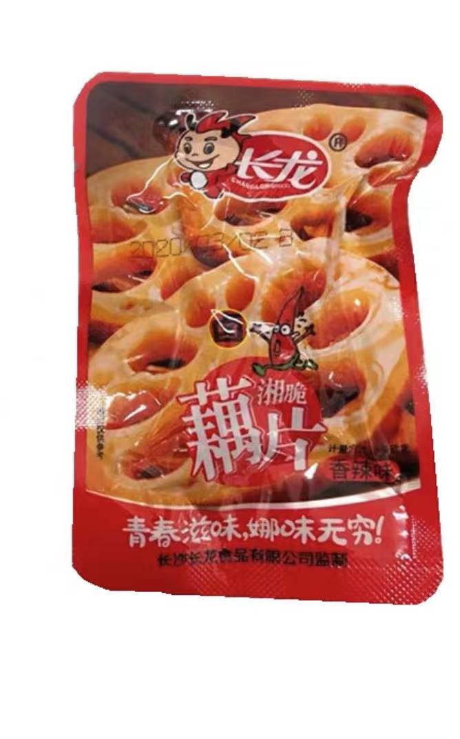 EQGS Around 20g Mini Pack READY TO EAT ChangLong Taste The Fresh Spicy Slice Lotus Root Vegetarian