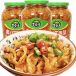 EQGS JiXiangJu Spicy Pickles Chinese Famous food Brand Sauce (XiaFanCai)