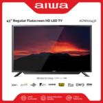 Aiwa 43 Inch Regular Flatscreen HD LED TV with FREE Wallmount | Model AW-AON0043X