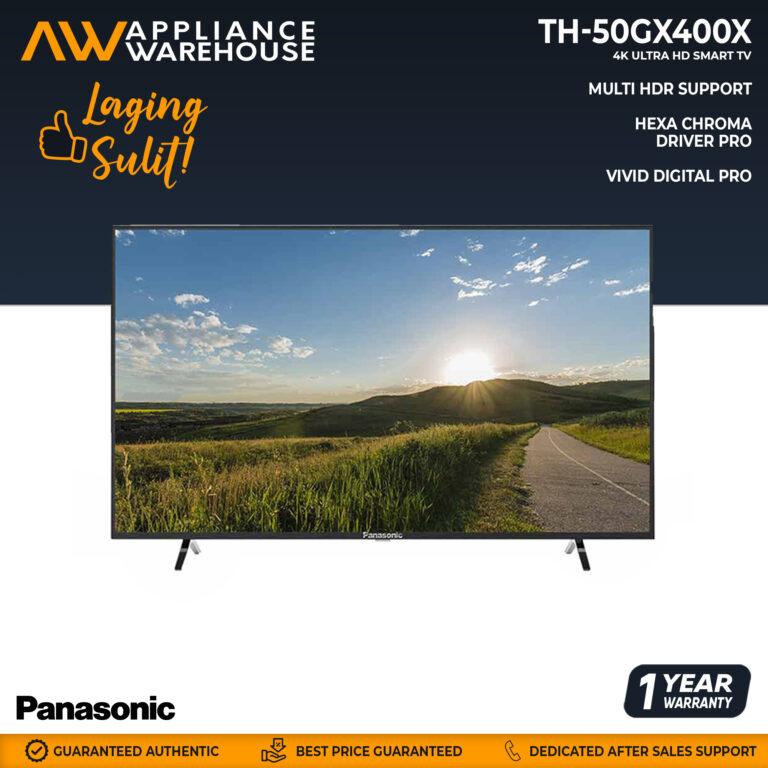 "Panasonic TH-50GX400X 4K Ultra HD Smart TV 50"""