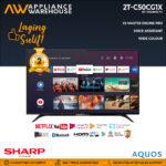 "Sharp 2T-C50CG1X 50"" 2K ANDROID TV (2 Years Warranty)"