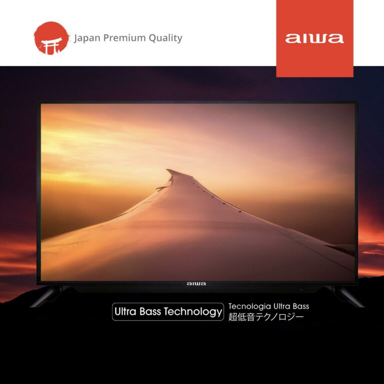 "AIWA 32"" LED BASS TV VIVIDTUNE SERIES AON0032"