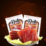 EQGS HuiWei Instant Pork Jerky Meat Dry Food Snack Spicy flavor 50g Ready To Eat