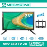 MEGASONIC M97-LED28  26 inch Screen LED TV 28 with Free Wall bracket