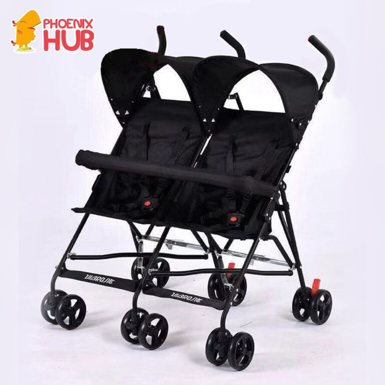 Phoenix hub Vibrone Twin Stroller Twin High Quality Double Baby Stroller Tandem Stroller Push Chair Foldable Stroller