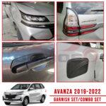 Toyota Avanza 2019 - 2022 Combo Set Cover (Matt Black)