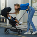Lightweight Baby Stroller Foldable High Landscape Stroller 1-5 Years Old Stroller Can Sit and Walk the Baby Artifact Stroller