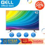 (BEST SELLER) GELL 32 INCH LED SALE TV &42INCH SALE LED TV flat on sale screen tv  Frameless Ultra-slim Multi-ports television (not smart tv)