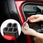 Car Door Rubber Auto Seal Strip Universal Car Sealing Strip Weatherstrip Double Layer B Shape Trim