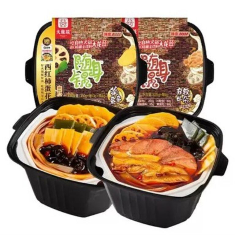 DaLongYi Self Heating Hotpot instant hotpot fastcook hotpot food snack