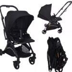 Akeeva Luxury REVERSIBLE Handle Travel Stroller (Moov)