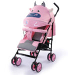 Hope Baby Stroller Lightweight Folding Pram Can Sit and Lie 0-3 Years Old Baby Shock Absorber Stroller