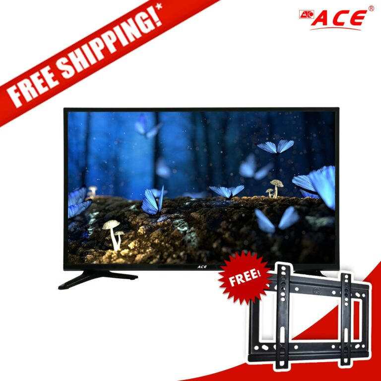 Ace 32 Slim LED TV Black LED-808 DN4 W/FREE BRACKET(FREE SHIPPING!!!)