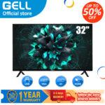 (Television)GELL 32 INCH LED TV sale flatscreen NOT SMART TV Multiport HDMI AV USB