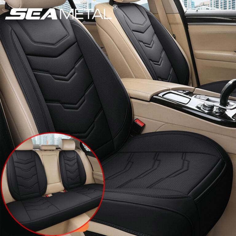 3PCS Car Seat Cover Half Pack Anti-skid Back Rart Cushion All-season Without Backrest