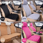 Accessories Car Seat Cover Protector Universal Front Rear Cushion Soft Plush