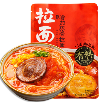 [China BEST Seller] Ramen Talk Tomato Tonkotsu Ramen
