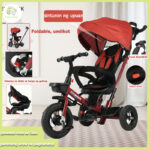 Detachable stroller with removable seat belt