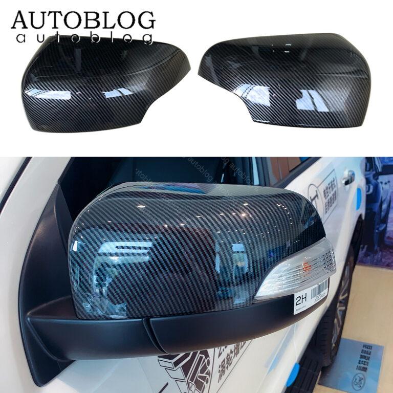 2pc Carbon Fiber Color Rear View Side Mirror Turn signal Trim for Ford Ranger Everest Endeavour 2015 2016 2017 2018 2019 2020 2021