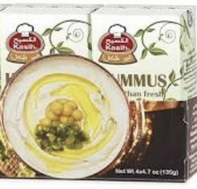 HOT??  Hummus Kasih ready to eat 135 grams X 2 containers