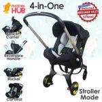 Phoenix Hub Baby Travel System Car Seat Stroller Rocker Basket Carrier TNG-15 High Quality Portable Pocket Stroller Multi Functional 4 in 1