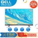 ?flat screen tv ?GELL 43 inch led promo tv  flat on sale screen tv Full HD Frameless ultra-slim  (not smart tv)