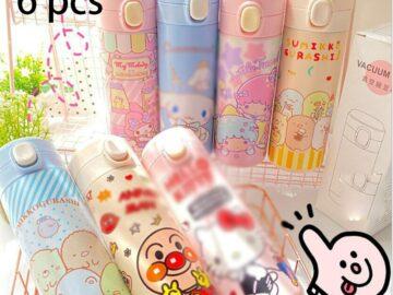6 Pcs/lot Kawaii Cat Dog Desktop Organizer Pen Holder Organizer Pencil Holder Cute Desk Accessories Office School Supplies