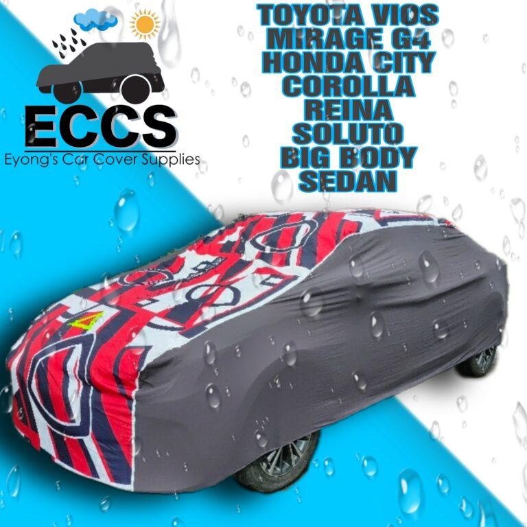 VIOS MIRAGEG4 CIAZ COROLLA SEDAN WATER REPELLANT CAR COVER