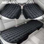 Plush Soft Car Seat Cover Anti Slip Cushion Protector