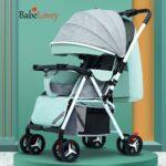 Baby Stroller Foldable Double Toddler Stroller Pram Buggy Baby Cart Washable Dinner Plate 0-3 Years