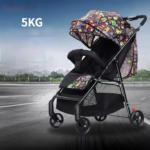 Baby Stroller Can Sit and Recline Stroller Lightweight Stroller