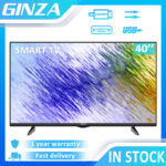 ?TV STAND) GINZA Not Smart TV 24 inches Led TV 40 inches Led TV Slim HD 24 inches Led Promo TV Flat On Sale ?24 inches Screen Size 20 inches?