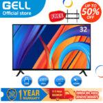 (Free tv bracket) LED TV GELL 32INCH  /42INCH LED TV  flat on sale screen tv  Frameless Ultra-slim Multi-ports television?not smart TV?