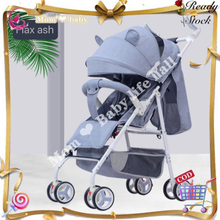 ?1-3Days Delivery?Baby Foldable Portable Stroller Push Chair Baby Travel Trolley