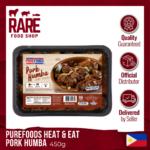 PUREFOODS HEAT & EAT PORK HUMBA 450G
