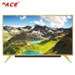 Ace 50  Aluminum Slim Full HD Smart TV Gold Built-in soundbar LED-605 DK5L