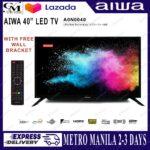 ?(Sony) Jiren/AIWA 40 1080P LED TV with FREE WALL BRACKET